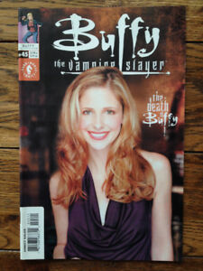Buffy The Vampire Slayer #45, Hauted, Jonathan, Lover's Walk, Oz