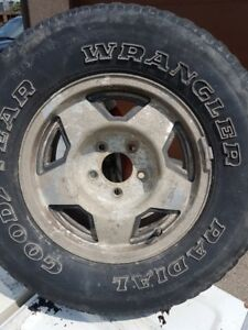 15x8 Chev/GMC 5 bolt factory rim from late 80's early 90's