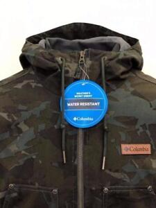 BRAND NEW Mens Columbia Camouflage Loma Vista Hooded Jacket 50% OFF 100% AUTHENTIC