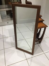Danish mid century mirror.