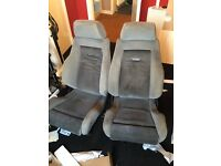 Ford Escort RS turbo front seats 90 spec