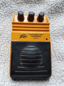 dual DI box, A/B switch and distortion pedal