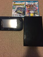 WiiU with 2 games