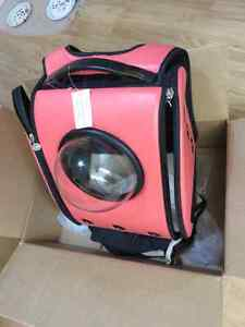 Unique U-PET CARRIER/BACKPACK for CATS or Small DOGS