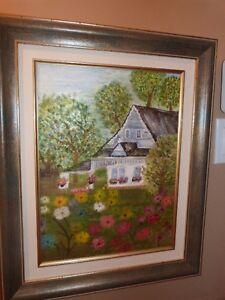 Peintures à l'huile (7) Cadres de qualité Peinture-1 - 150 $17