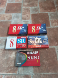 Blank sealed tapes