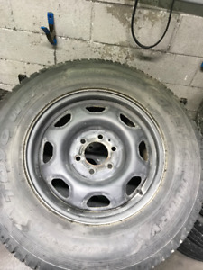LT245-75-17 Toyo with rims Ford F-150