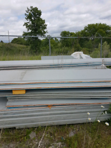 Stucco insulated steel panels 2900 square ft