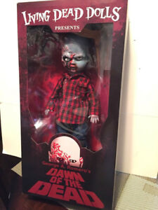 DAWN OF THE DEAD Doll - BRAND NEW
