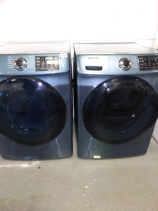 Set Washer and Dryer.  Samsung.