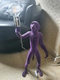 Unique monkey lamp