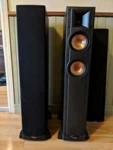 Enceintes Tours Klipsch RF52 Home Cinema Front Tower Speaker