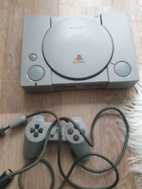 Playstation 1 and game