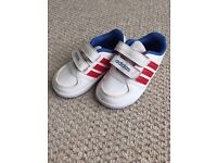Adidas toddler trainers size 3