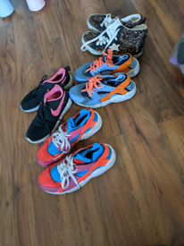 Job lot of shoes different sizes