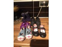 Free girls shoes size 9