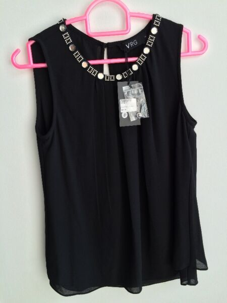 VRG black blouse