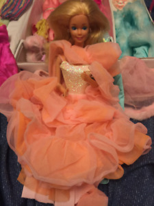 Peaches and creme Classic Barbie doll
