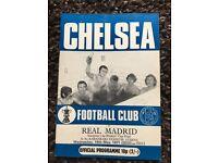 Chelsea v Real Madrid 1971