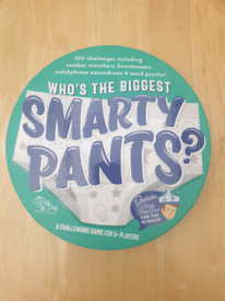 Whose The Biggest Smarty Pants? Game - New