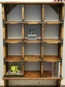 Handcrafted, imported shelf