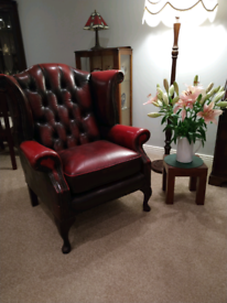 Leather Winged / Wingback