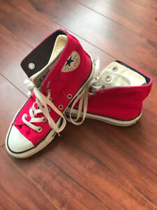 Converse ALLSTAR  Special Double layer Red inside white/unisex