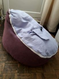 Baby bean chair