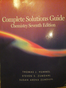 Chemistry Complete Solutions Guide Textbook
