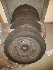 """Toyota corolla 15"""" tires and rims 195/65/15"""