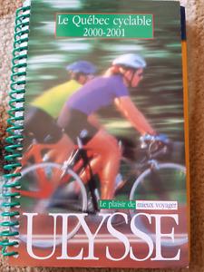 Livre des pistes cyclables au Québec 2000-2001