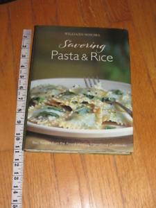 WILLIAMS-S)NOMA Pasta & Rice Cookbook 231 Pages
