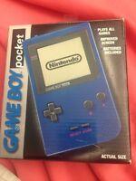 Blue Game Boy Pocket Mint