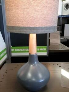 *** USED *** ASHLEY STACIA GRAY LAMP (2/CN)   S/N:51258767   #STORE507