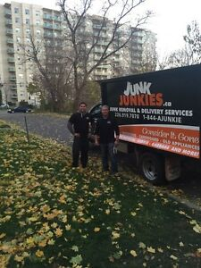 Junk, rubbish, garbage removal an delivery/estate service London Ontario image 2