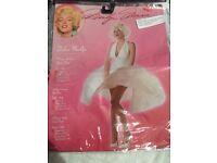 Ladies Marilyn Monroe fancy dress size small