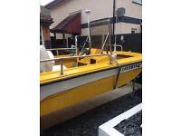 40hp dory boat