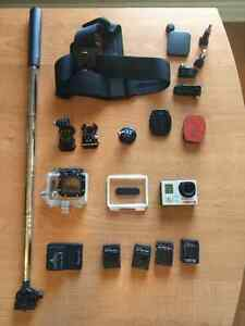 GoPro Hero 3 Black with accessories kit