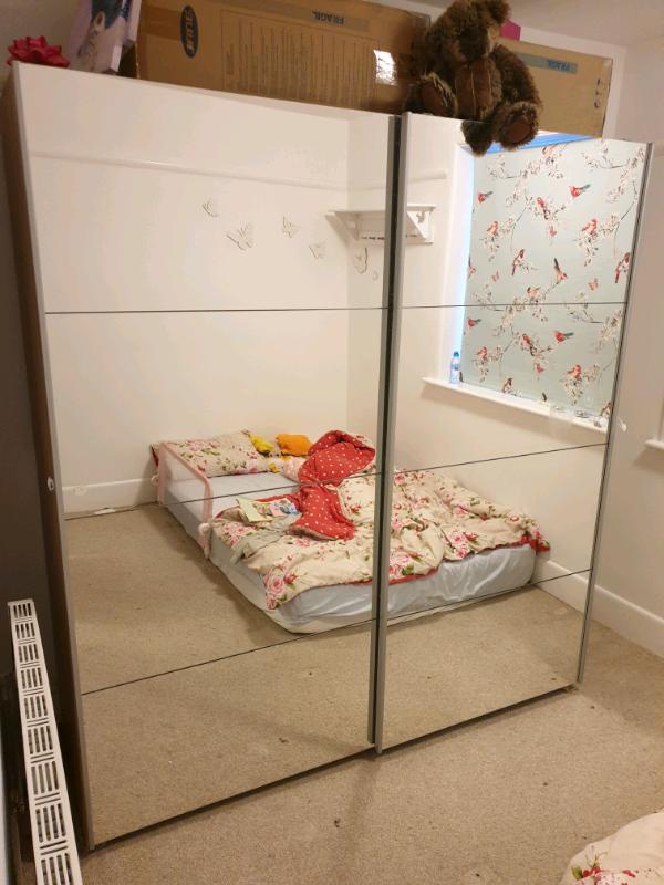 brand new 1a4b5 25b98 Sliding Wardrobe - Bensons for Beds | in Bournemouth, Dorset | Gumtree