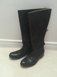 Ladies leather boots by FRYE - new