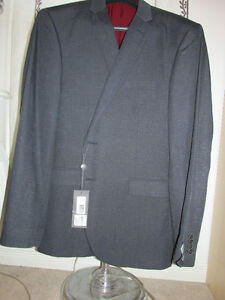 Kenneth Cole Reaction 100% brand new charcoal men's Jacket.