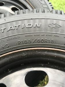 Winter Tires on Rims $200 Kawartha Lakes Peterborough Area image 2