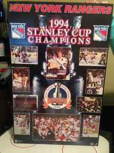 1994 Stanley Cup Photo Board St. John's Newfoundland image 1