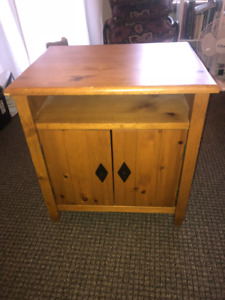 REDUCED PRICE: Bedside or Media Cabinet $39 Panorama BC