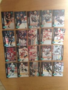 For Sale: 1992 Parkhurst Hockey Cards (Lot of 119 Cards)