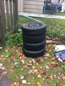 Studded winter tires $150