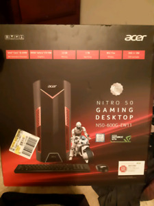 Brand new Acer gaming desktop