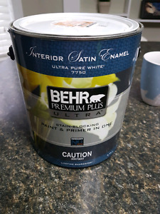 Brand new can of paint