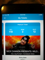 Nick cannons wild n out tickets for sale
