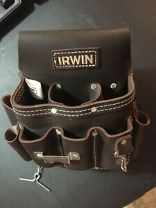 Electricians IRWIN Leather Tool Belt  New